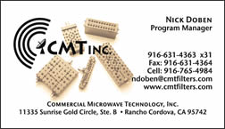 sample CMT business card