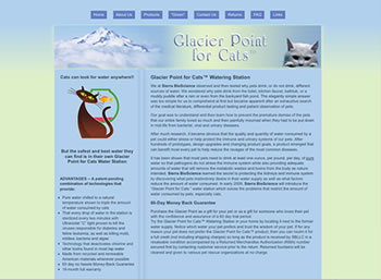 Glacier Point for Cats home page