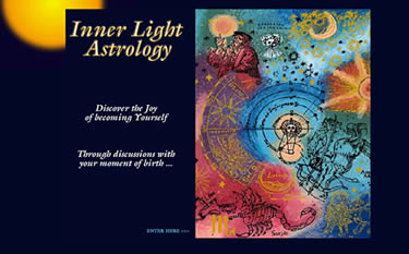 Inner Light Astrology front page