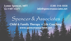 Spencer & Associates business card