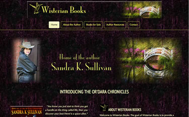 Wisterian Books home page